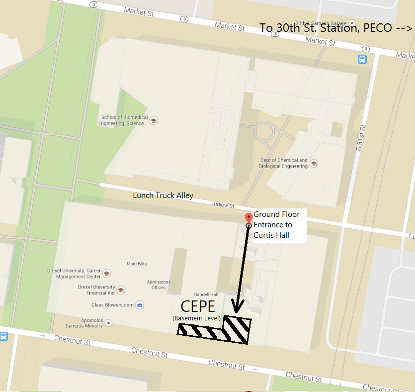 Map to CEPE